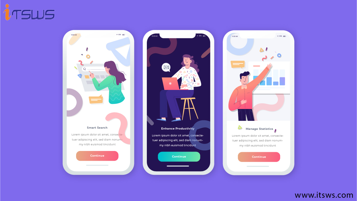 Creative Templates for Mobile Apps