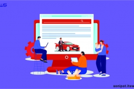 Automobile Website Development Company in Sonipat